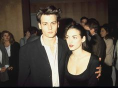 Winona Ryder and Johnny Depp, 1990s. Wino forever!