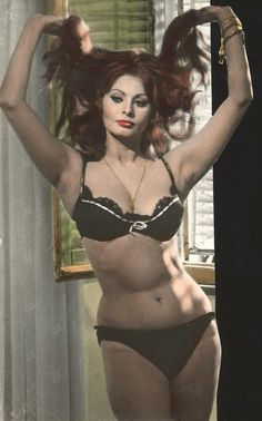 "Sopia Loren in ""Yesterday, Today, and Tomorrow"" (1963)"