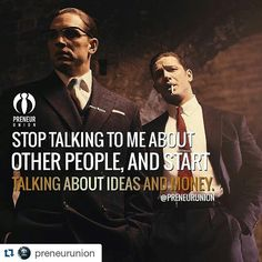#Repost @preneurunion  PLEASE STOP... And start talking about ideas and money.   Follows the family @preneurunion  #entrepreneurs #emprendedores #business #negocios #inspiration #inspiracion #phrases #frases #quotes #family #familia #money #motivation #gym #bodybuilding #motivacion #followus #siguenos #preneurunion by chriisherz