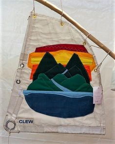 Image result for art with sail cloth