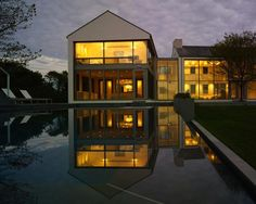 Leroy Street Studio designed this very modern Hamptons home and pool within a legal requirement that the building appear traditional. For more from NYC-based Leroy Street, see Architect Visit: Leroy Street Studio and CCS Architecture. Photo by Adrian Wilson.