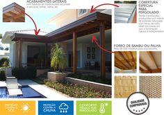 Pergolado de madeira para área externa, jardim, planta, piscina, garagem, varanda, área gourmet, gazebo. Vários modelos, tamanho, preço m2.