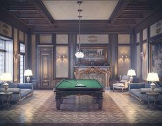 """Check out new work on my @Behance portfolio: """"classic interior"""" http://on.be.net/1jC5GPh"""