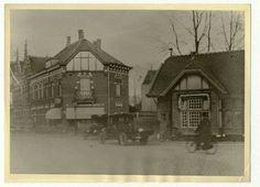 Circa 1920...politiepost in de Nassaustraat