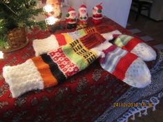 Socks Tree Skirts, Christmas Tree, Socks, Holiday Decor, Home Decor, Teal Christmas Tree, Decoration Home, Room Decor, Xmas Trees