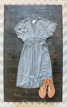 Easy, simple summer dress in jersey | Jones Design Company