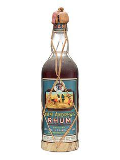 Saint Andrew's Rum. Caribbean Blend.