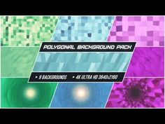 Polygonal Background Pack