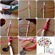 Simple Friendship Bracelet | Friendship Bracelet Tutorial