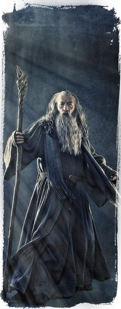 The Hobbit: Gandalf by Gianfranco Gallo