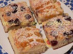 Jogurtová buchta Czech Recipes, French Toast, Baking, Breakfast, Sweet, Czech Food, Fit, Decor, Food Cakes