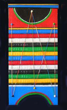 INSTRUMENTO -  Objeto - Tecnica mixta sobre tabla de lavar de madera, 50 x 30 cm - Setiembre 2009 -.jpg (propiedad de la Sra. Natalia Rodriguez)