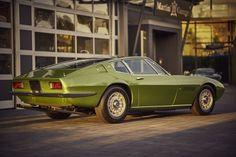Deze Maserati Ghibli SS uit in groen metallic uit 1968 wordt te koop aangeboden in Duitsland via Classic Driver. Volgens de verkoper betreft het een...