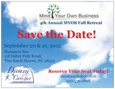 Proud to Bee a Silver Sponsor!  Save the Date - http://www.myobworkshop.com/