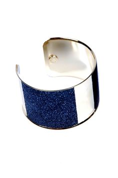 love the deep blue cuff