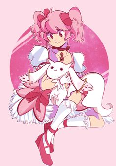 madoka by nanadraws18 on @DeviantArt