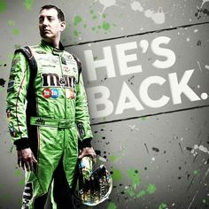 He's Back!  After 11 points races missed due to his injuries, Kyle Busch is back this weekend!