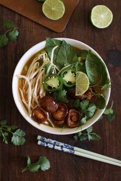 Vegetarian Pho soup