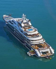 The first superyacht ever built by Italian shipyard Fincantieri, the 134-meter Serene was delivered in 2011 to Russian billionaire, Yuri Scheffler. As was later revealed, the oligarch sold his superyacht in July 2015 to Saudi Arabia's deputy crown prince, Mohammed bin Salman for $458 million.