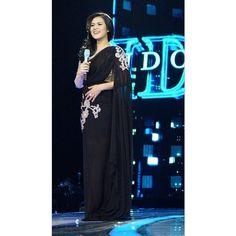 Raisa di acara Indonesian Idol