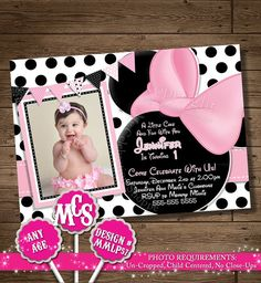 HUGE SELECTION Minnie Mouse Birthday by MyCelebrationShoppe