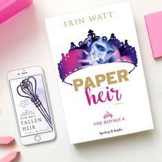"""Recensione: """"Paper heir"""" di Erin Watt edito da Sperling & Kupfer"""