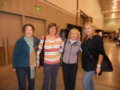 Staffers bump into each other at the Hampton Roads quilt show