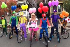 Awesome Group Halloween Costumes Guaranteed To Win Any Costume Contest - Obsev -You can find Gr. Awesome Group Halloween Costumes Guaranteed To Win Any Costume Contest - Obsev -You can find Gr. Naruto Halloween Costumes, Homemade Halloween Costumes, Halloween Diy, Halloween Couples, Group Halloween Costumes For Adults, Halloween Karneval, Family Costumes, Group Costumes, Diy Costumes