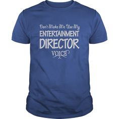 Entertainment Director Voice T-Shirts, Hoodies. CHECK PRICE ==► https://www.sunfrog.com/Jobs/Entertainment-Director-Voice-Shirts-Royal-Blue-Guys.html?41382