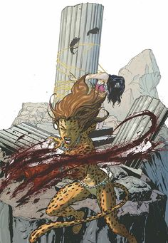 WONDER WOMAN #23.1: THE CHEETAH Written by JOHN OSTRANDER Art by VICTOR IBANEZ On sale SEPTEMBER 18 • 32 pg, FC, $3.99 US The Cheetah has clawed her way out of Belle Reve, and is hungry for blood—but before she steps up as one of the Secret Society's most powerful generals, she has a personal score to settle! Learn the truth about the cult of Hippolyta, her vendetta against Wonder Woman, and just how far she'll go to prove that she's the most dangerous predator on Earth!