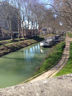 Canal du Midi, Toulouse.