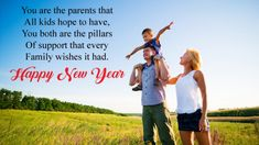 Happy New Year Messages 2020 For Parents - New Year Wishes 2020 Best New Year Wishes, New Year Wishes Messages, Happy New Year Message, Family Wishes, Happy New Years Eve, Happy New Year Quotes, Happy New Year Greetings, Quotes About New Year, Happy New Year 2019