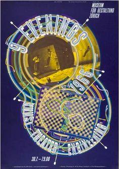 """9 evenings 2008 Silkscreen 128 x 90 cm, 50"""" x 35"""""""