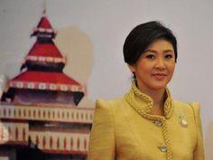 Thailand's Prime Minister, Yingluck Shinawatra
