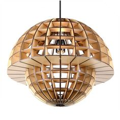 wood pendant lamp, size: ∅405*330*1500Hmm