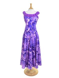 Hula Dress S405 - - | AlohaOutlet SelectShop New Dress Pattern, Different Dress Styles, Island Wear, Wrap Skirts, Ethnic Dress, Tutu, Designer Dresses, Fashion Dresses, Couture
