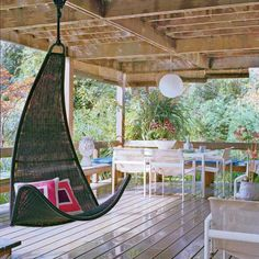 Modern Statement - 65 Beachy Porches and Patios - Coastal Living