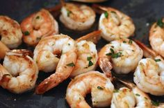 This is by far our favorite shrimp recipe. It's got a great burst of flavor garlic butter without feeling heavy.