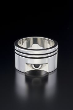 ba200dde399b Piston candle Wedding Bands For Him