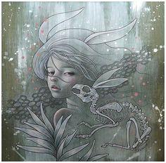 Painting ~ Audrey Kawasaki