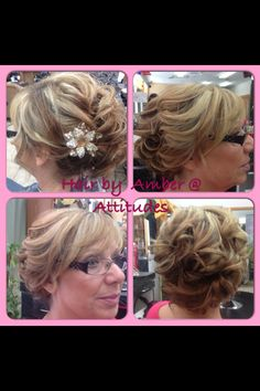 Mother of the bride updo my creations pinterest more updo ideas pmusecretfo Images