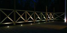 Terassin valaistus: LED valosarja - Ohituskaistalla