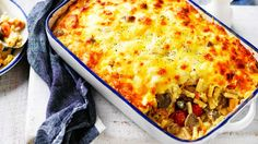 The family will love this cheesy bacon pasta bake, loaded with nutritious veg.