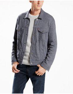Levi's Trucker Jacket Men's French Terry Retail $88 Size XL