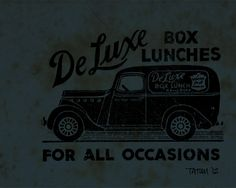 De Luxe Box Lunches by Keith Tatum