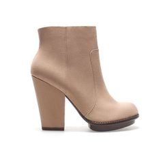 PLATFORM ANKLE BOOT  Ref. 7144/101    Height of heel: 10,5 cms. / 4,1 inches.  $49.90 - Zara