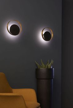 use battery operated lights.  20+ Unique Wall Lamps That Steal The Show -