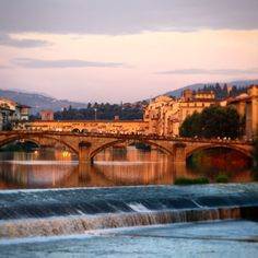 Bridges over the Arno #firenze #florence...