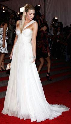Ivanka Trump, red carpet style, dress