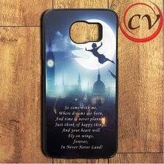 Peterpan Quote Samsung Galaxy S6 Edge Plus Case